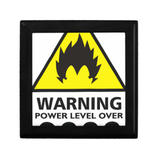 Warning to power its to over 9000 gift box