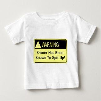 Warning! Infant T-shirt