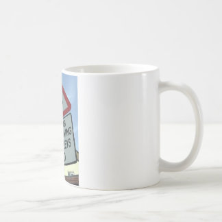 'Warning: Turkey drivers ahead' Coffee Mug
