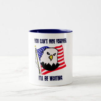 Warning Two-Tone Coffee Mug