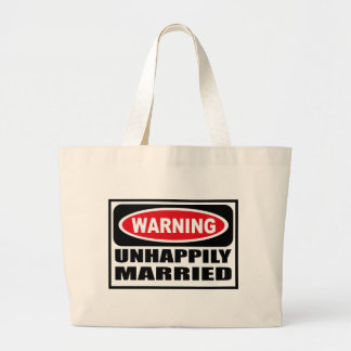 Warning UNHAPPILY MARRIED Bag