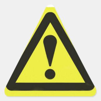 Warning, warning Sticker