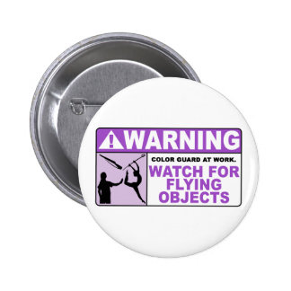 WARNING Watch For Flying Objects! Pin