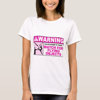 WARNING Watch For Flying Objects! T-Shirt