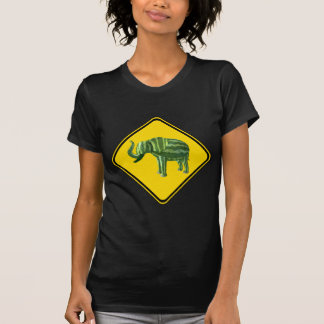 Warning: Watermelon Elephant Crossing! T-Shirt