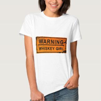 Warning - Whiskey Girl T-shirt