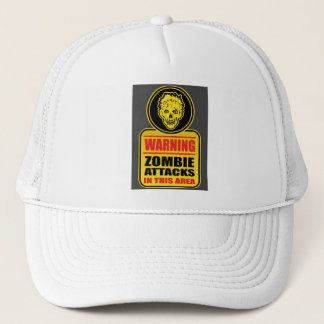 Warning Zombie Attacks Cap