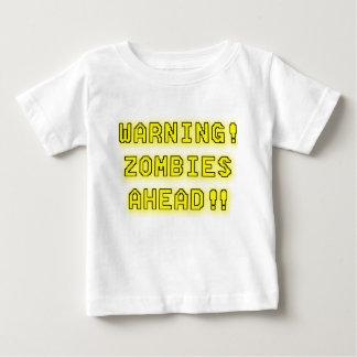 Warning Zombies Ahead!!! Tees