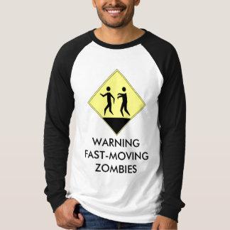Warning Zombies Shirt