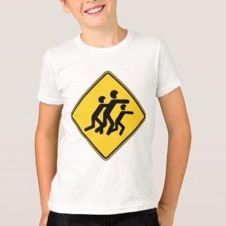 Warning Zombies T-Shirt