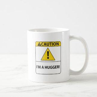 WarningHUGGER001 Taza De Café