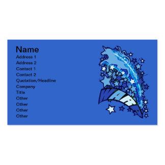 WARP BUSINESS CARD TEMPLATES
