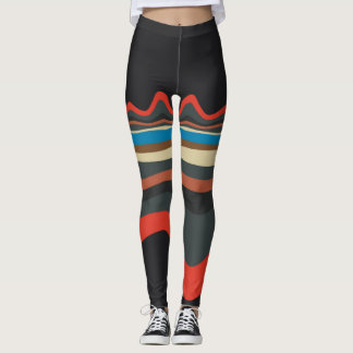 Warp color legging