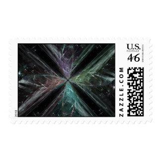 Warp Drive Postage Stamps