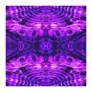 """Warp Factor Source"" Mandala Wrapped Canvas"