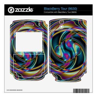 Warp Gate BlackBerry Decal