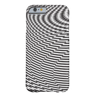 Warped and Twisted Checkerboard Barely There iPhone 6 Case