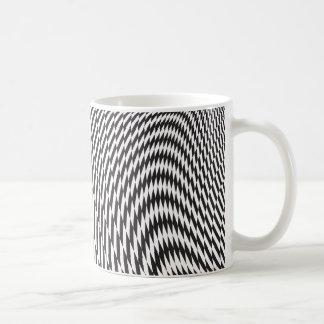 Warped and Twisted Checkerboard Coffee Mug
