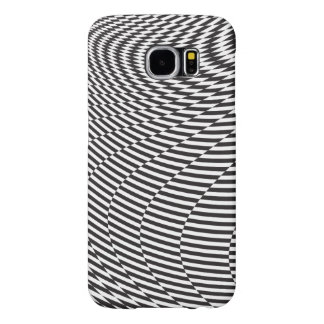 Warped and Twisted Checkerboard Samsung Galaxy S6 Case