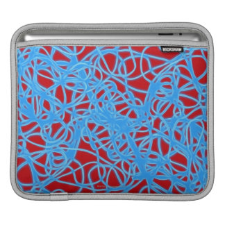 Warped Circles Sleeve For iPads