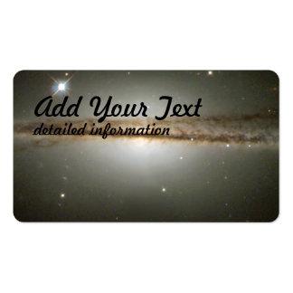 Warped Edge-On Galaxy ESO 510-G13 Business Card Templates