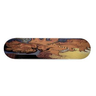 Warped Flesh Skateboard Deck