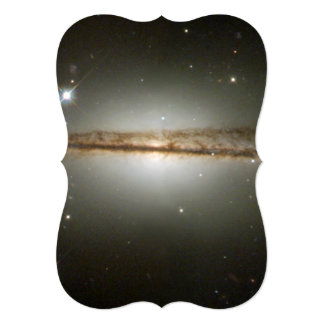 Warped galaxy card
