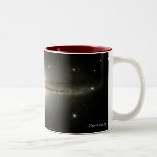Warped Galaxy Two-Tone Coffee Mug