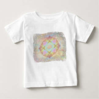 Warped Kaleidoscope - Light Colored Abstract Baby T-Shirt