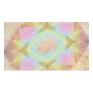 Warped Kaleidoscope - Light Colored Abstract Business Card Templates