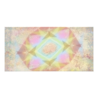 Warped Kaleidoscope - Light Colored Abstract Card