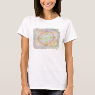 Warped Kaleidoscope - Light Colored Abstract T-Shirt