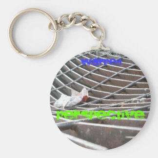 warped key chain