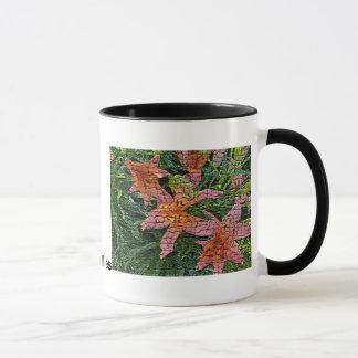 Warped Lillies, Warped Lillies Mug