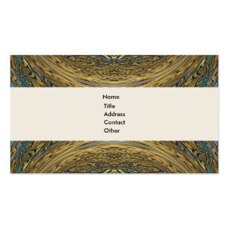 Warped Magnified Magic Treasures Business Cards