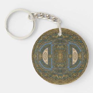 Warped Magnified Magic Treasures Keychain