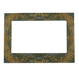 Warped Magnified Magic Treasures Magnetic Picture Frame