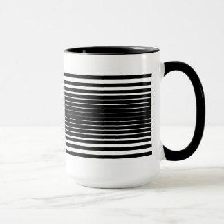 Warped Mug (Black & White)