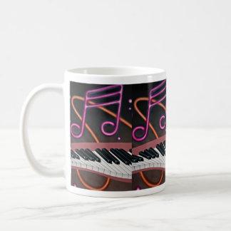 Warped music coffee mug