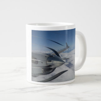Warped Propeller Jumbo Mug 20 Oz Large Ceramic Coffee Mug
