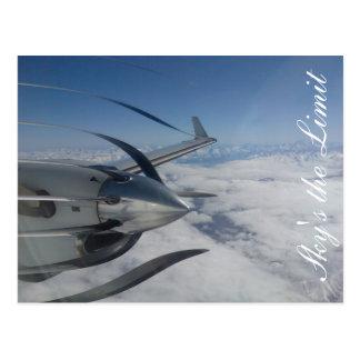 Warped Propeller Post Card