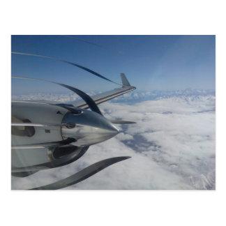 Warped Propeller Postcard