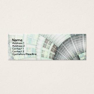 Warped Realities Mini Business Card