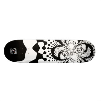 Warped Skateboard