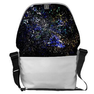 Warped Space Messenger Bag