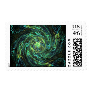 Warped Space Stamps