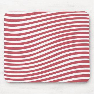 Warped Stripe Cool Mousepad Mouse Pad