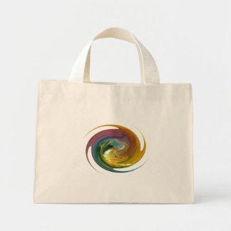Warped Time Mini Tote Bag