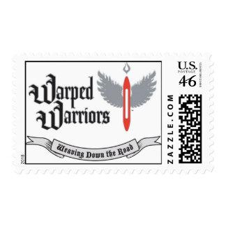Warped Warriors US Postage