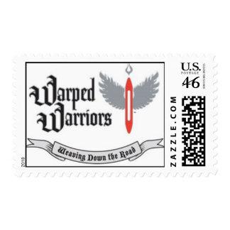 Warped Warriors US Postage Stamp